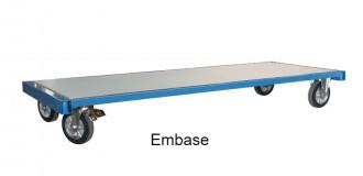 Chariot industriel pour charges lourdes - Devis sur Techni-Contact.com - 1