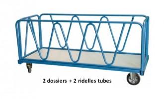 Chariot industriel pour charges lourdes - Devis sur Techni-Contact.com - 4