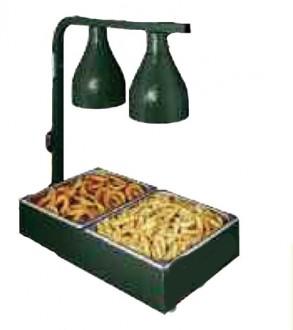Réchaud de cuisine avec lampe chauffante - Devis sur Techni-Contact.com - 1