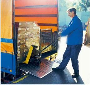 Pont de chargement aluminium 600 ou 1200 kg - Devis sur Techni-Contact.com - 2