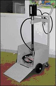 Chariot transport d'huile à 4 roues - Devis sur Techni-Contact.com - 1