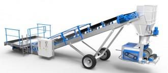 Convoyeur sauterelle avec trémie - Devis sur Techni-Contact.com - 2