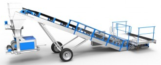 Convoyeur sauterelle avec trémie - Devis sur Techni-Contact.com - 3