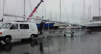 Remorque pour transport de mâts sur-mesure - Devis sur Techni-Contact.com - 2
