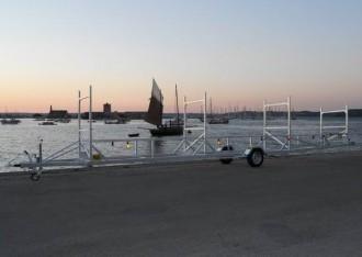 Remorque pour transport de mâts sur-mesure - Devis sur Techni-Contact.com - 4