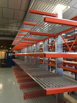 Caillebotis en acier pour rack - Devis sur Techni-Contact.com - 1