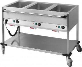 Chariot bain-marie horizontal - Devis sur Techni-Contact.com - 1