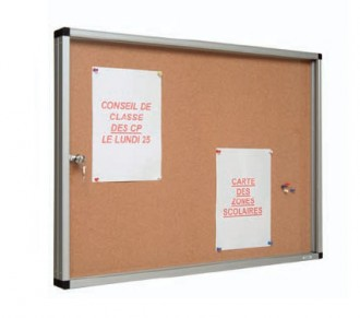 Vitrine d'affichage liège - Devis sur Techni-Contact.com - 1