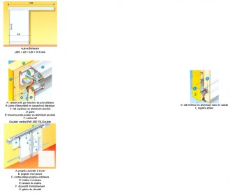 Porte coulissante isotherme isolé - Devis sur Techni-Contact.com - 2