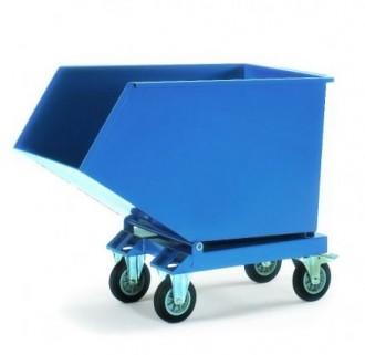 Chariot benne basculante 500 à 800 Kg - Devis sur Techni-Contact.com - 1