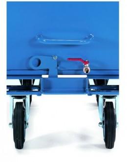 Chariot benne basculante 500 à 800 Kg - Devis sur Techni-Contact.com - 2