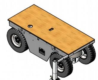 Chariot transporteur motorisé 1600 kg - Devis sur Techni-Contact.com - 1