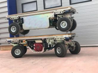 Chariot transporteur motorisé 1600 kg - Devis sur Techni-Contact.com - 3
