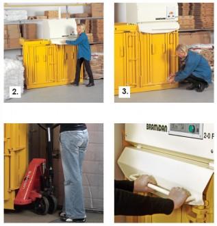 Petite pesse à balles à deux chambres - Devis sur Techni-Contact.com - 2