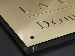 Plaque signalétique intérieure - Devis sur Techni-Contact.com - 1