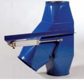 Clapet by-pass asymétrique pneumatique 45° - Devis sur Techni-Contact.com - 1