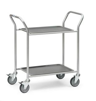 Chariot à plateaux amovibles - Devis sur Techni-Contact.com - 1