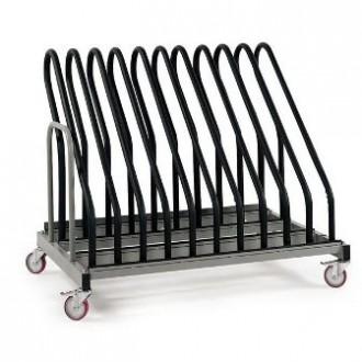 Chariot transport et stockage de cadres à roues pivotantes - Devis sur Techni-Contact.com - 1