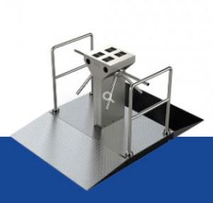 Location tripode double mobile pour contrôle accès - Devis sur Techni-Contact.com - 1