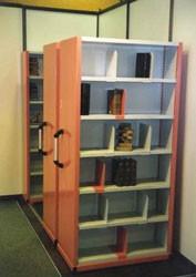 Rayonnage mobile bibliothèque Manuel - Devis sur Techni-Contact.com - 1