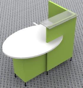 Petit comptoir d'accueil - Devis sur Techni-Contact.com - 2