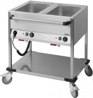 Chariot bain-marie en acier - Devis sur Techni-Contact.com - 1