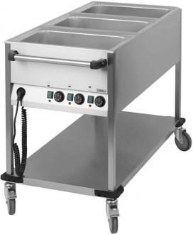 Chariot bain-marie en acier - Devis sur Techni-Contact.com - 4