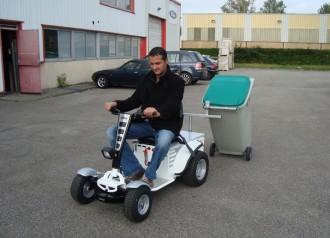 Micro tracteur autoporté avec remorque - Devis sur Techni-Contact.com - 1