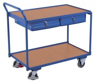Chariot d'atelier avec plateaux - Devis sur Techni-Contact.com - 3