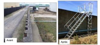 Escaliers à palier double accès sur site pétrochimique - Devis sur Techni-Contact.com - 3