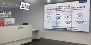 Ecran d'affichage dynamique - Devis sur Techni-Contact.com - 1