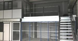 Mezzanine industrielle sur-mesure - Devis sur Techni-Contact.com - 2