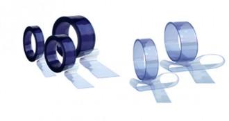 Lanières pvc transparent en rouleau - Devis sur Techni-Contact.com - 1