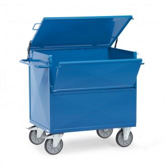 Chariot à caisse tôlé 600 Kg - Devis sur Techni-Contact.com - 1