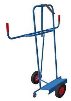 Chariot porte panneaux en bois et plastique - Devis sur Techni-Contact.com - 2