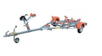 Remorque jet ski à rouleaux - Devis sur Techni-Contact.com - 1
