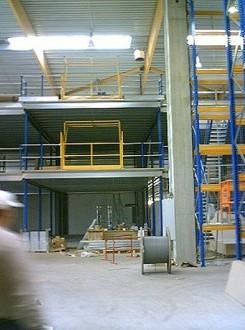 Mezzanine avec plateforme industrielle - Devis sur Techni-Contact.com - 1