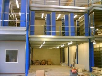 Mezzanine avec plateforme industrielle - Devis sur Techni-Contact.com - 2