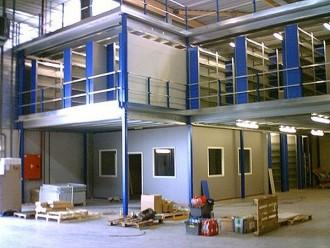 Mezzanine avec plateforme industrielle - Devis sur Techni-Contact.com - 3