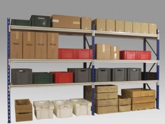 Rayonnage semi-lourd hauteur 3000 mm - Devis sur Techni-Contact.com - 1