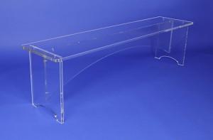 Banc plexiglas pour entrée 150 cm - Devis sur Techni-Contact.com - 2
