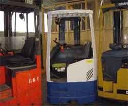 Chariot élévateur électrique Caterpillar levée 4.3 métres - Devis sur Techni-Contact.com - 1
