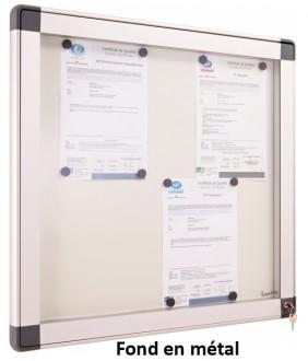 Vitrine d'intérieur fond en liège ou métal - Devis sur Techni-Contact.com - 2