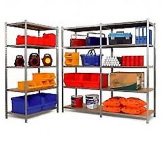 Rayonnage galvanisé pour industrie - Devis sur Techni-Contact.com - 1