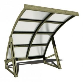 Abri à vélos en bois - Devis sur Techni-Contact.com - 1