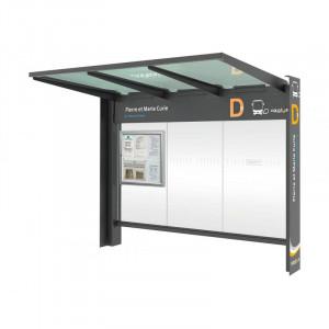 Abri arrêt de bus  - Devis sur Techni-Contact.com - 1