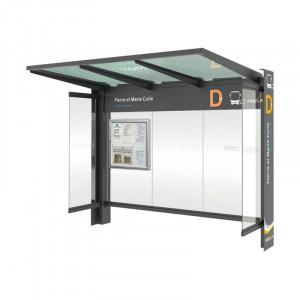Abri arrêt de bus  - Devis sur Techni-Contact.com - 2