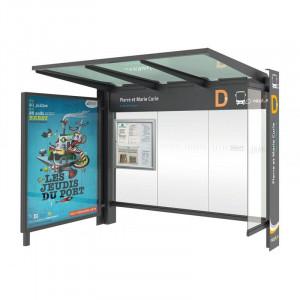 Abri arrêt de bus  - Devis sur Techni-Contact.com - 3
