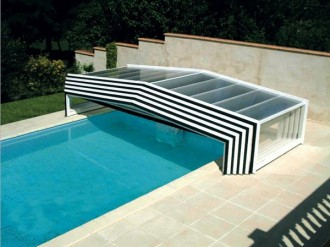 Abri bas piscine - Devis sur Techni-Contact.com - 1