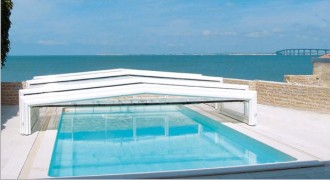 Abri bas piscine - Devis sur Techni-Contact.com - 2